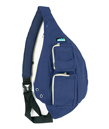 Meru Sling Bag - Sling Rucksack für Damen & Herren - Crossbody Taschen für Damen & Herren