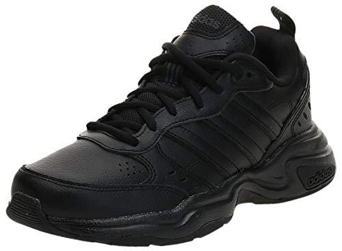 Adidas Strutter, Zapatillas Deportivas Fitness y Ejercicio Hombre, Negro Core Black Core Black Grey, 46 EU