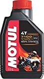 Motul 7100 4T 10W-50 API SN Fully Synthetic Petrol Engine Oil for Bikes