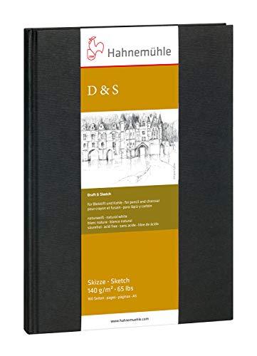 Hahnemühle 10628270 Zeichenblocks und Skizzenbücher Skizzenbuch 140g 80 Blatt