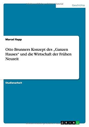 Otto Brunners Konzept des