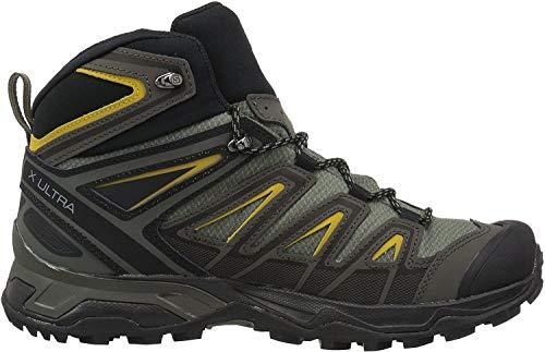 SALOMON Shoes X Ultra 3 Wide Mid GTX Gra, Botas de montaña