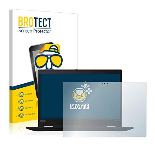 BROTECT Entspiegelungs-Schutzfolie kompatibel mit Lenovo ThinkPad X390 Yoga Bildschirmschutz-Folie Matt, Anti-Reflex, Anti-Fingerprint
