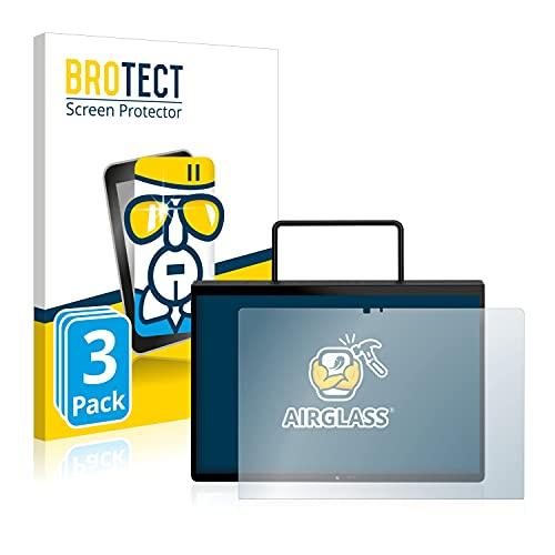 BROTECT Protector Pantalla Cristal Compatible con Lenovo Yoga Pad Pro Protector Pantalla Vidrio (3 Unidades) - Dureza Extrema, Anti-Huellas, AirGlass