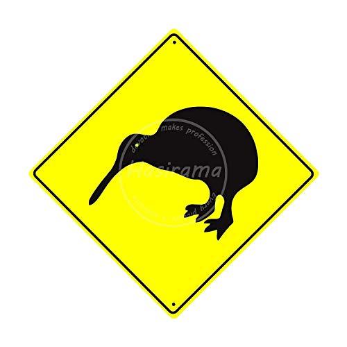 niet Kiwi Vogel Muur Tin Teken Vintage IJzeren Schilderen Plaque Metalen Blad Retro Gepersonaliseerde Ambachten Waarschuwing Poster Creativiteit Decoratie Art Voor Cafe Bar Garage Cave Man Home