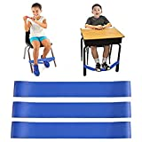 Chair Bands for Kids with Fidgety Feet, Alternative Seating in Classrooms, for Kids with Sensory ADHD ADD Autism and Sensory Needs, Chair Bands Made from Natural Latex, Good Resilience Toughness…