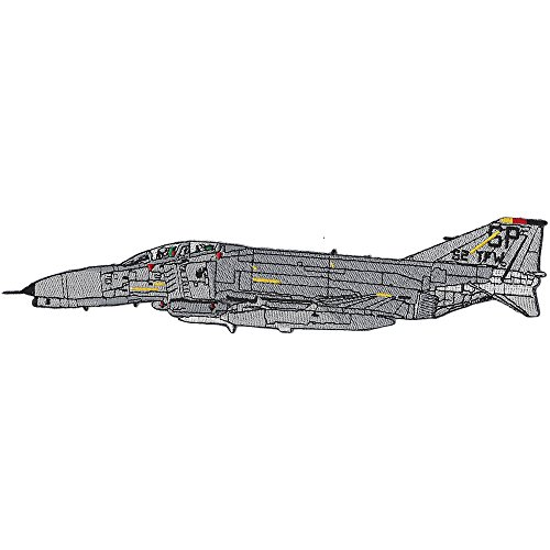 58 TFW F-4 Phantom II Side View Airframe TFW Patch