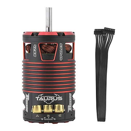 VGEBY1 Sensored Motor, Motore brushless con sonda a 4 Poli, Impermeabile, per 1/8 su Accessori RC da Strada(2700KV)