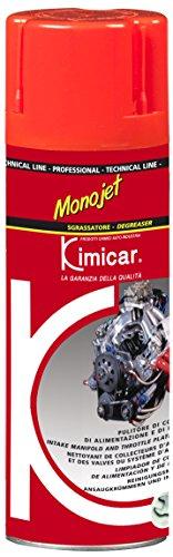 Kimicar Monojet, Pulitore Valvole e Carburatori Spray, Incolore, 400 ml
