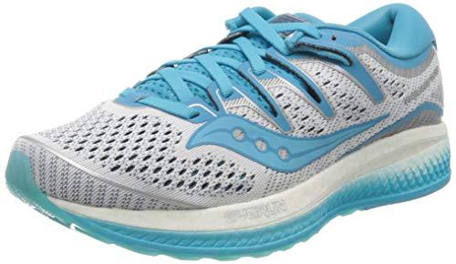 Saucony Triumph ISO 5, Zapatillas de Running para Mujer, Azul (White/Blue 36), 38.5 EU