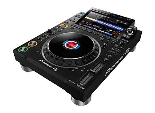 PIONEER Professional DJ Multi Player (Black) w/, Stand Alone in Black (CDJ-3000)