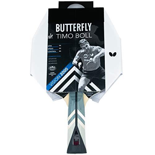 Butterfly Timo Boll Vision 2000 - Raqueta de ping pong