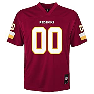 NFL by Outerstuff Kids & Youth Team Color Fashion Jersey Washington Redskins, 24 Months