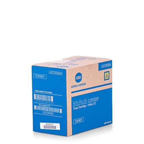Original Konica Minolta A0X5254 / TNP-50 Y, Premium Drucker-Kartusche, Gelb, 5000 Seiten