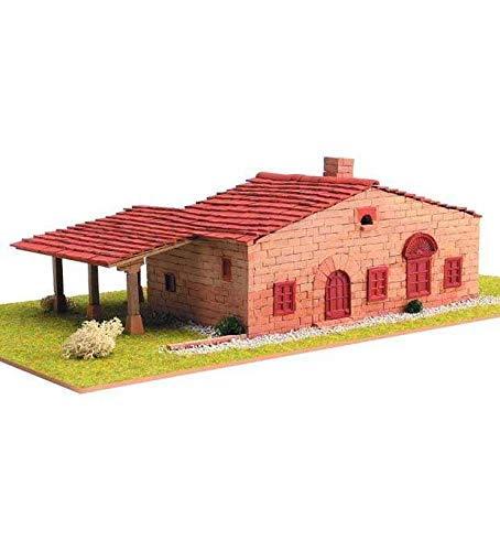 Keranova- Kit de cerámica Masía Catalana 3, Color marrón (30206)