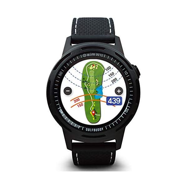 GolfBuddy-W10-Tlmtre-de-Golf-Unisexe-Noir-Taille-Unique