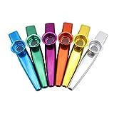 Best Kazoos - MILISTEN Metal Kazoos for Kids, Aluminum Alloy Metal Review