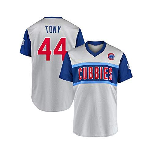 Unisex Chicago Cubs # 9# 44# 17 Fan Version Jersey Stickerei-Baseball-Uniform, Re-abwaschbar, Tony-XL