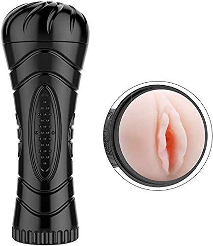 DUJIE Pocket Pussy,Male Masturbators Cup Adult Sex Toys Realistic Textured Pocket Vagina Pussy Man Masturbation Stroker