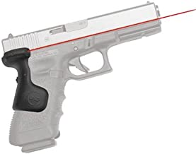 Crimson Trace LG-637 Lasergrips with Red Laser, Heavy Duty Construction and Instinctive Activation for GLOCK Full-Size Pistols, Defensive Shooting and Competition