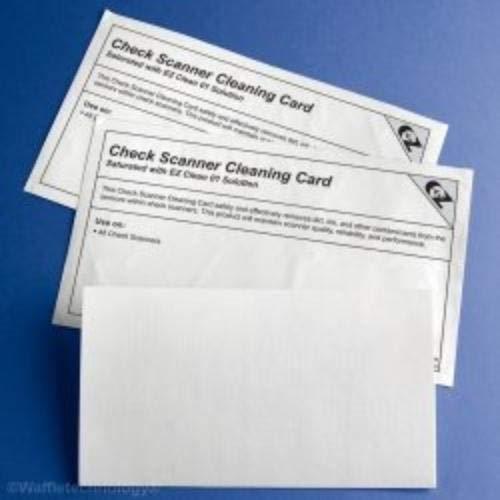Cheapest Prices! Kicteam K2-CIB25 Check Scanner Cleaning Card