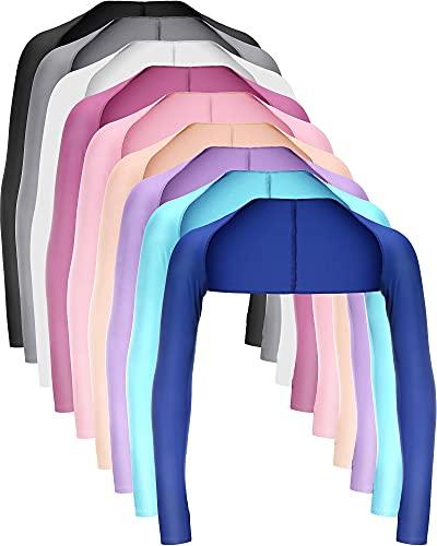 Kühlender Schal für Damen, mit Fingerloch, UV-Schutz, atmungsaktiv, bequem für Golf, Fahren, Reiten, Angeln, 9 Farben