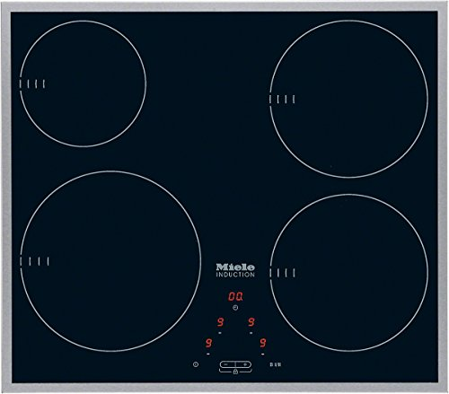 Miele KM 6112 Noir Intégré Plaque avec zone à induction - Plaques (Noir, Intégré, Plaque avec zone à induction, Verre-céramique, 1400 W, 16 cm)