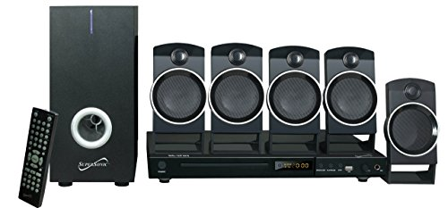 Supersonic SC37HT 5.1 Channel DVD Home Theater System (Renewed)