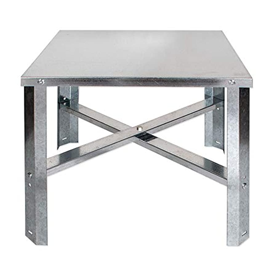 Eastman 86278 Water Heater Stand 30-60 Gallon, Silver