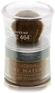 L'Oréal Paris Makeup True Match Loose Powder Mineral Foundation, Natural Beige, 0.35 oz.