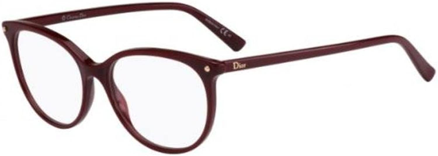 Christian Dior  CD 3284, Cat Eye, acetate, women, BURGUNDY(LHF), 53 16 140