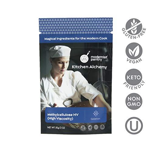 Pure Methylcellulose - High Viscosity ⊘ Non-GMO ☮ Vegan ✡ OU Kosher Certified - 50g/2oz