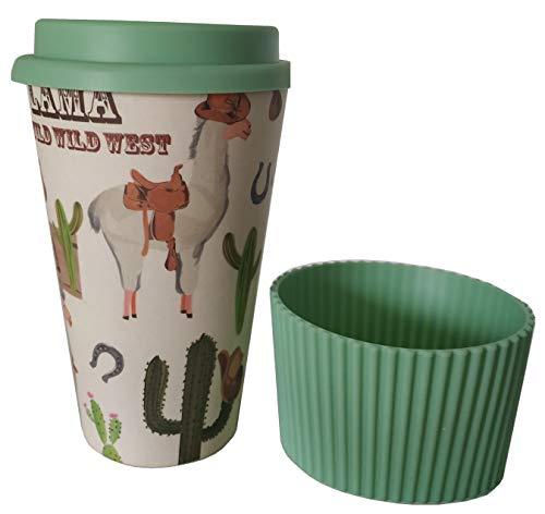 Vaso Café para Llevar Reutilizable - Vaso de Cafe de Fibra de...