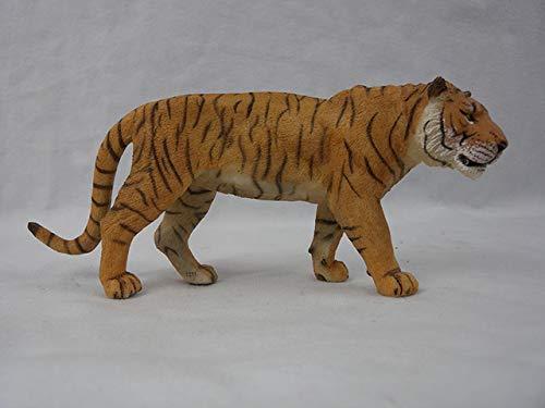 Originele echte wilde dierentuin boerderij Afrikaanse savanne leeuw dier koning vogel serie luipaard kat panter Jaguar model speelgoed kinderen cadeau, Siberische tijger