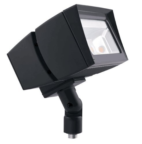 RAB Lighting FFLED39/PC Future Flood 39W Cool LED, 120V, Bronze