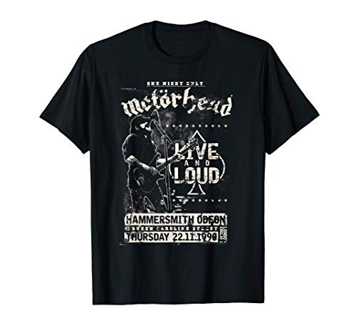 Motörhead - Live & Loud T-Shirt