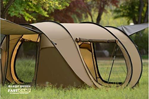 YVUYVJH 2018 automatische outdoor camping 3-4 persoons tent grote ruimte pop-up elke tent familie camping 2doors 2windows met mesh