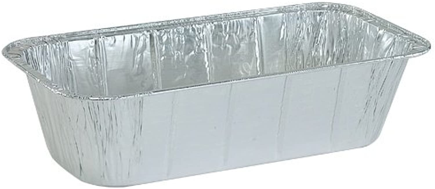 Nicole Home Collection 00602 Aluminum Loaf Pan, 1 3 Size, 5Pound, 200Pack