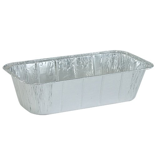 "Disposable Aluminum Foil Loaf Pan - 5 lb | 12.5"" x 6.5"""