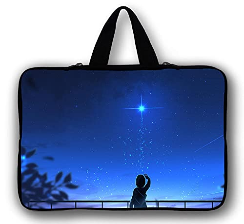 DENGDENG Laptop Sleeve Bag Compatible with 10-17 inch MacBook Pro, MacBook Air, Notebook Computer-style 1_12 inch 30 * 22.5cm