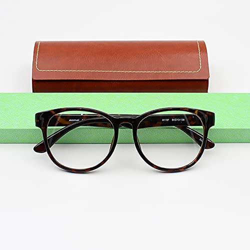 JJ Home Anti Blue Light Gafas de Lectura con Funda y Paño de Microfibra, Gafas Unisex, 2,50 dioptrías, TR90, Bisagras Resorte