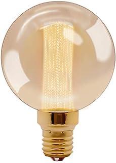 RADIANT LEDエジソン電球 E26 LED電球 電球色 エジソンバルブ フィラメント電球 アンティーク照明 レトロ電球 間接照明 装飾電球 【G95】2.5W(ゴールデンオレンジ)