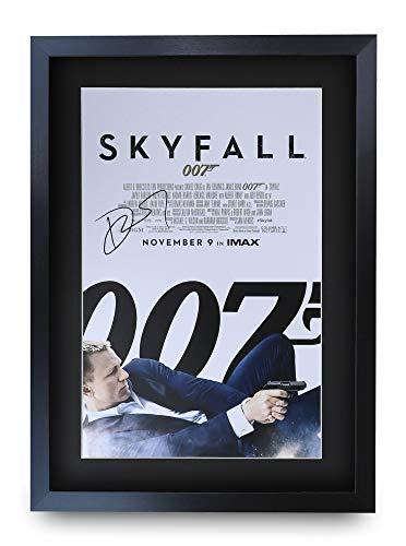 HWC Trading A3 FR James Bond - Skyfall Movie Poster Daniel Craig Signed Geschenk GESTALTET A3 Printed Autogramm Film Geschenke drucken Fotobildanzeige