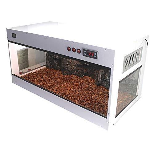 Terrarium Für Reptilien & Amphibien, Kann Gespleißt Werden Temperaturregelung Faunarium PVC-isolierbox Terrarium Komplettset Winterlebensraum Der Froscheidechsenschlangenchamäleonspinne