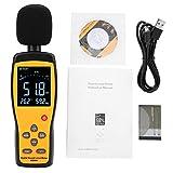 Fonometro, robusto AS844 + Fonometro digitale Decibel Meter Rumore Monitor DB Strumento di...