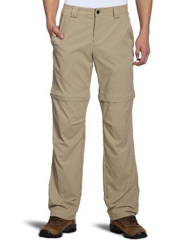 Odlo 522982 Pantalon Convertible à Fermeture Éclair pour Homme Topaz Beige 54