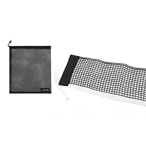Rete da Ping Pong, in Poliestere, Rete da Ping Pong, Professionale, Accessorio di Ricambio per Ping-Pong, Portatile, per Uso Interno/Esterno, 180 x 15 cm