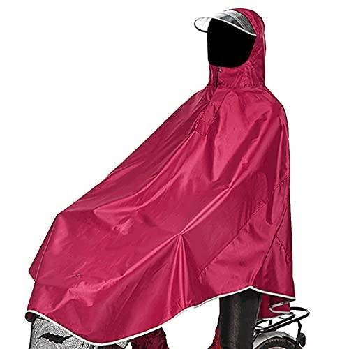 sorliva Regenponcho für Camping Fahrrad Regenmantel...