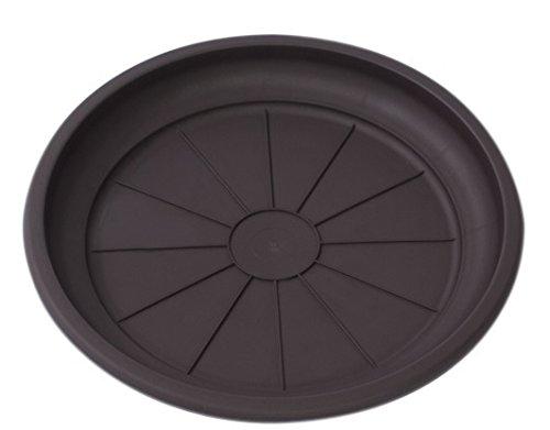 Hobby & Style 14775.0 Soucoupe pour Pot rotin, wengé, 36 x 36 x 5 cm