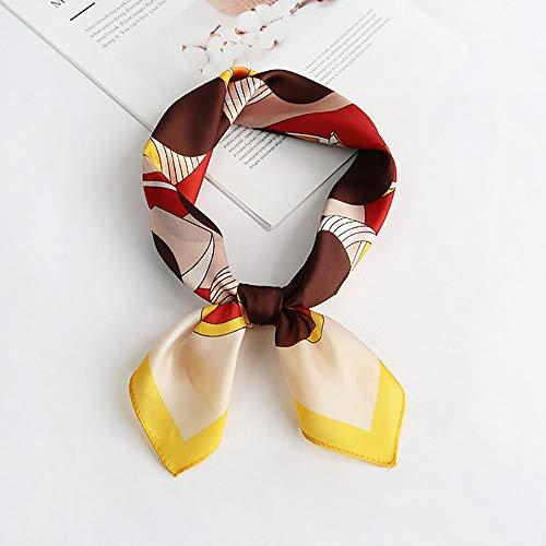 Señoras de las mujeres pañuelos de seda Totem Satén De Las Mujeres Impreso Bufanda Decorativo Pueda Utilizarse A Diario La Función De Proximidad Grande para la escuela Party Play Grupo Coro